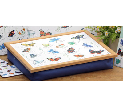 "CT MFL025 Поднос на колени ""Butterflies"" 40*31*7,4см, Andrews Living Rooms, Германия"