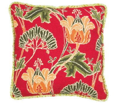 """GL6042 Набор для вышивания Anchor: наволочка """"Arts And Craft Floral"""" 40*40см, MEZ, Венгрия"""