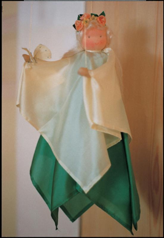 """A11400 Набор для шитья вальдорфской игрушки """"Весенняя фея"""" (подвеска), De Witte Engel, Нидерланды"""