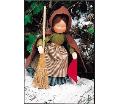 """A17500 Набор для шитья вальдорфской куклы """"Девушка Тауветтер"""", De Witte Engel, Нидерланды"""