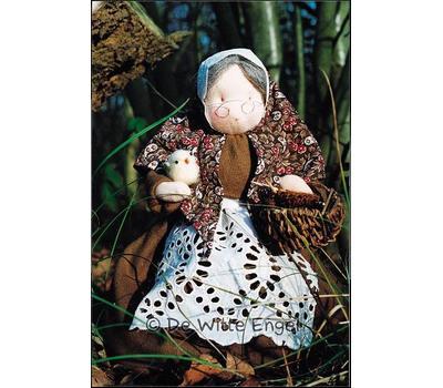 "A17600 Набор для шитья вальдорфской куклы ""Бабушка-Бабуля"", De Witte Engel, Нидерланды"