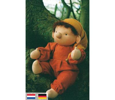 """A20701 Набор для шитья вальдорфской куклы """"Карлик Нос"""", De Witte Engel, Нидерланды"""