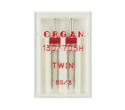 Иглы двойные стандарт № 80/3.0, Organ