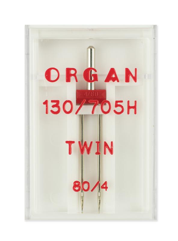 Иглы двойные стандарт № 80/4.0, Organ