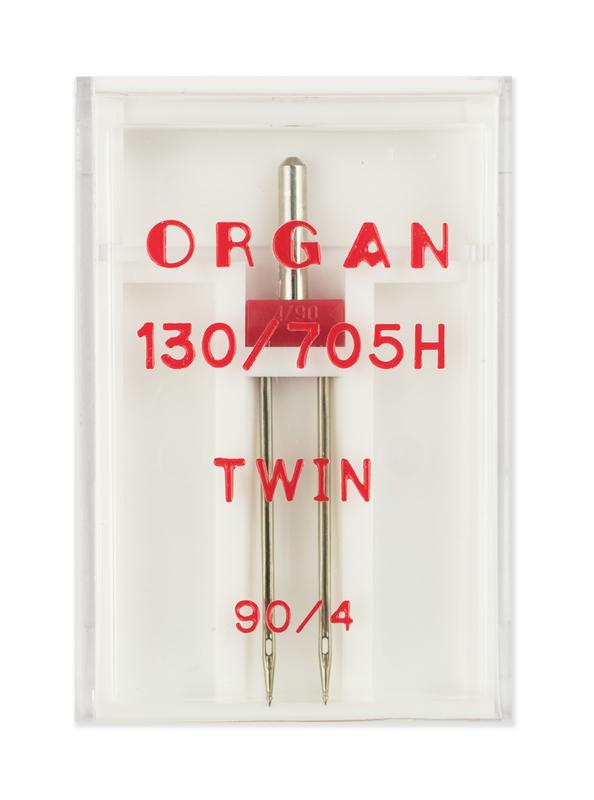 Иглы двойные стандарт № 90/4.0, Organ