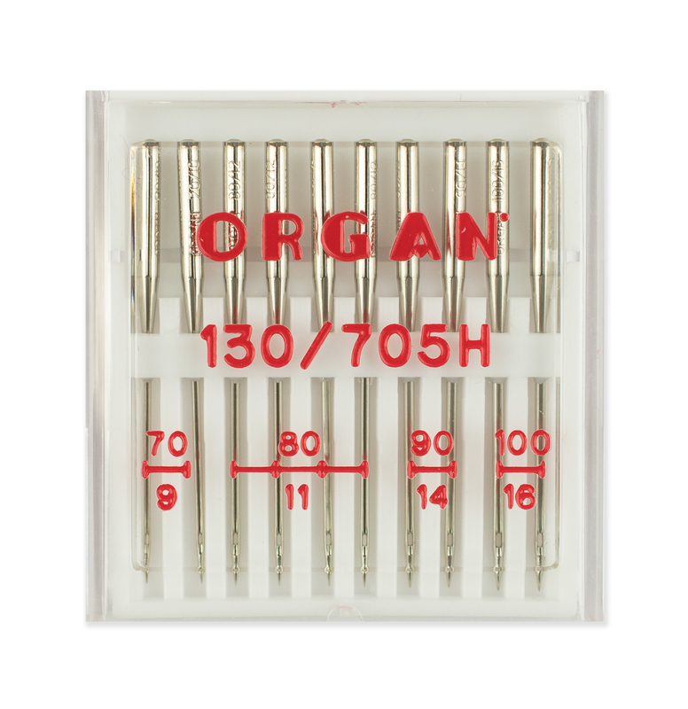 Иглы стандарт №№ 70(2),80(4),90(2),100(2), Organ