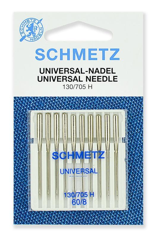 Иглы стандартные № 60, Schmetz