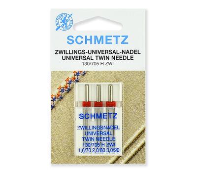 Иглы стандартные двойные набор, Schmetz