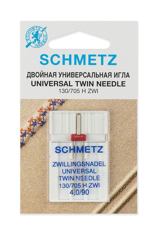 Иглы стандартные двойные № 90/4.0, Schmetz