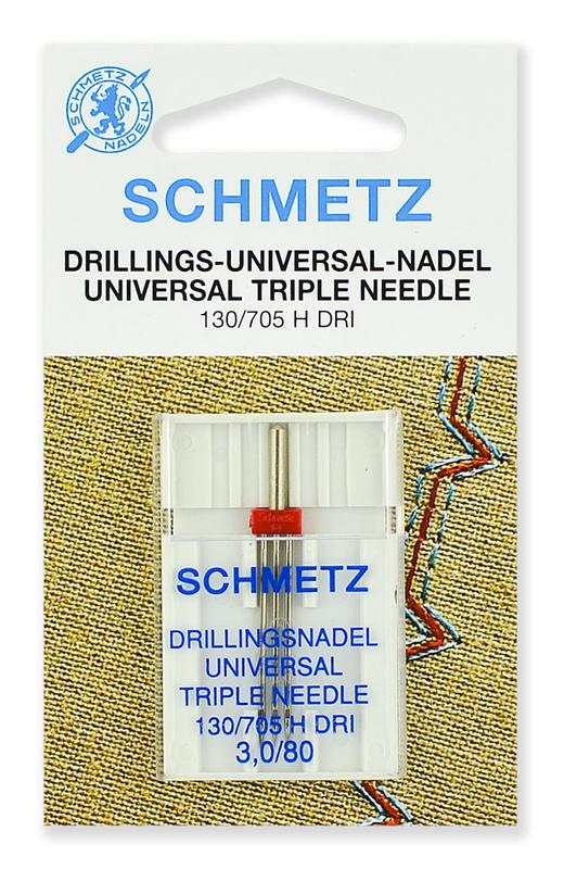 Иглы тройные № 80/3.0, Schmetz