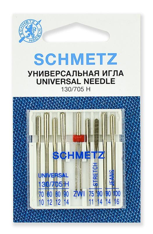 Иглы комбинированные, Schmetz