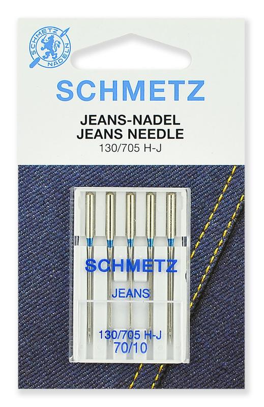Иглы для джинсы № 70, Schmetz