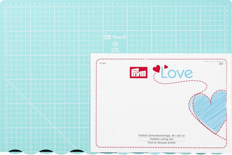 "611465 Коллекция ""Love"" - Коврик для резки складной, Prym, Германия"