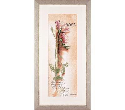 """PN-0008050 Набор для вышивания """"Rosa botanisch"""" 20*60см, Vervaco, Бельгия"""