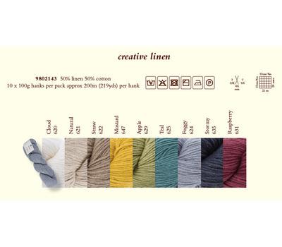 9802143 Creative Linen /Креатив Лайнен/ пряжа Rowan, MEZ, Германия