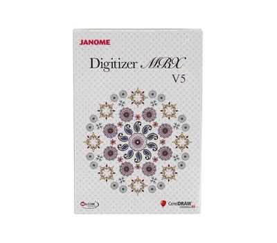 Janome Digitizer MBX v 5.0