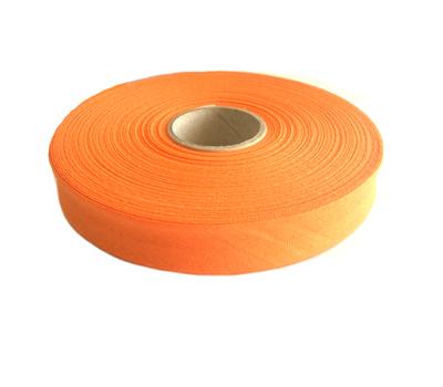 Косая бейка, хлопок, 40/20 мм оранжевый цв.