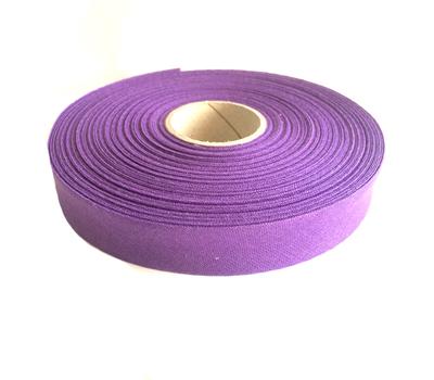 Косая бейка, хлопок, 40/20 мм фиолетовый цв.