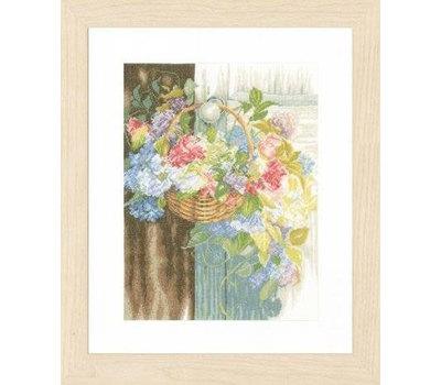 """Набор для вышивания """"Flower Basket"""" 29*38см, Vervaco"""