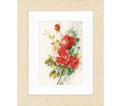 """Набор для вышивания """"Rode rozenboeket"""" 21*30см, Vervaco"""