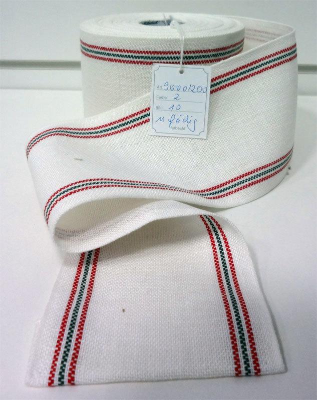 Основа для вышивания 11-ти ниточная: лента-труба , ширина 20см