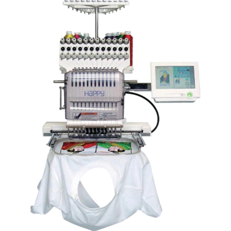 1201-30 (HCS2) Вышивальная машина Happy Profi с сенсорным дисплеем