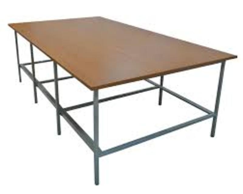 Стол раскройный 3000х2000х900мм (комплект с нижней полкой)