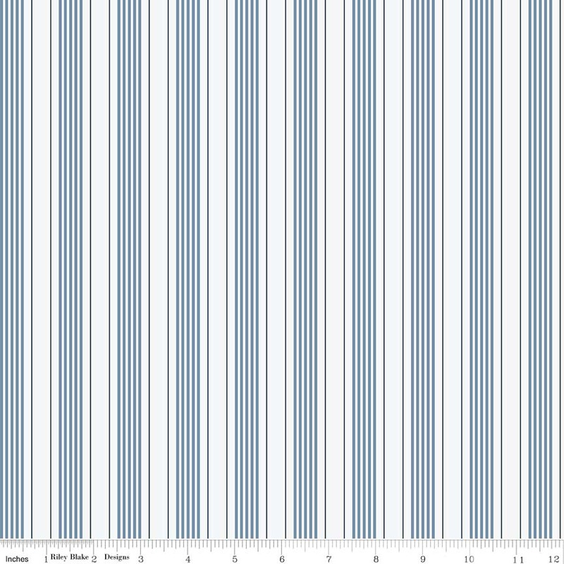 ТКАНЬ 100% ХЛОПОК [C5706-BLUE]