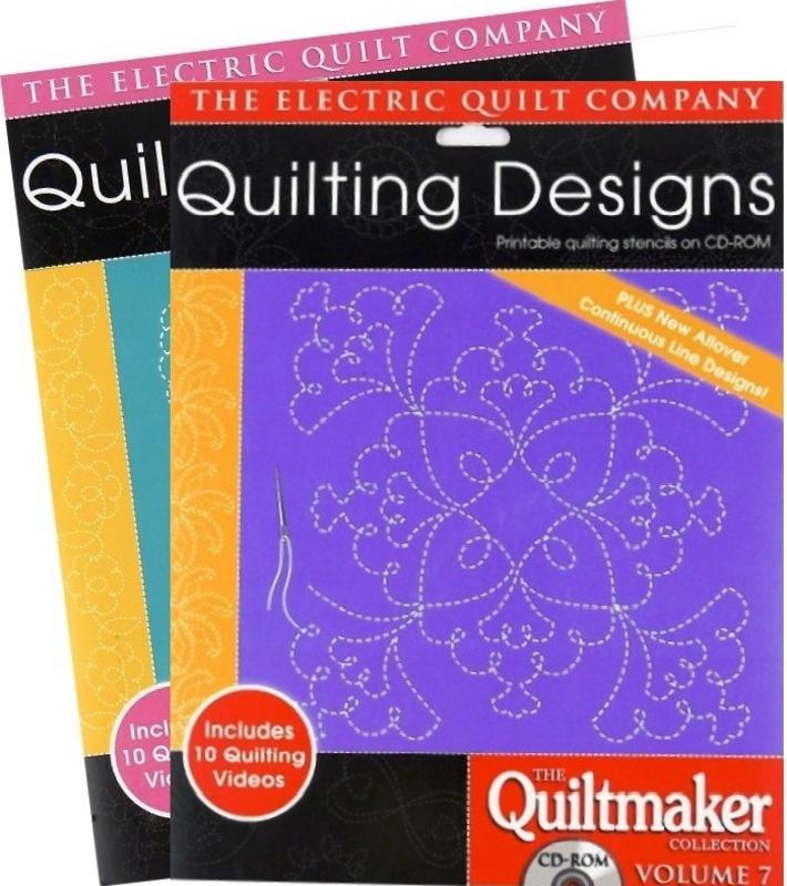 Набор дизайнов для квилтинга QUILTMAKER COLLECTION