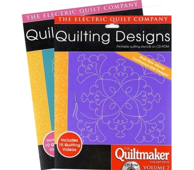 Набор дизайнов для квилтинга QUILTMAKER COLLECTION