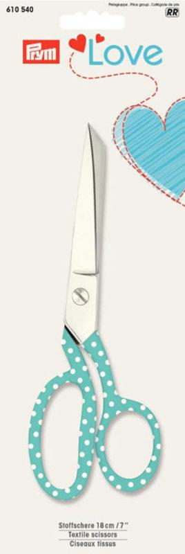 """Коллекция """"Love"""" - Ножницы для ткани, длина 18см"""