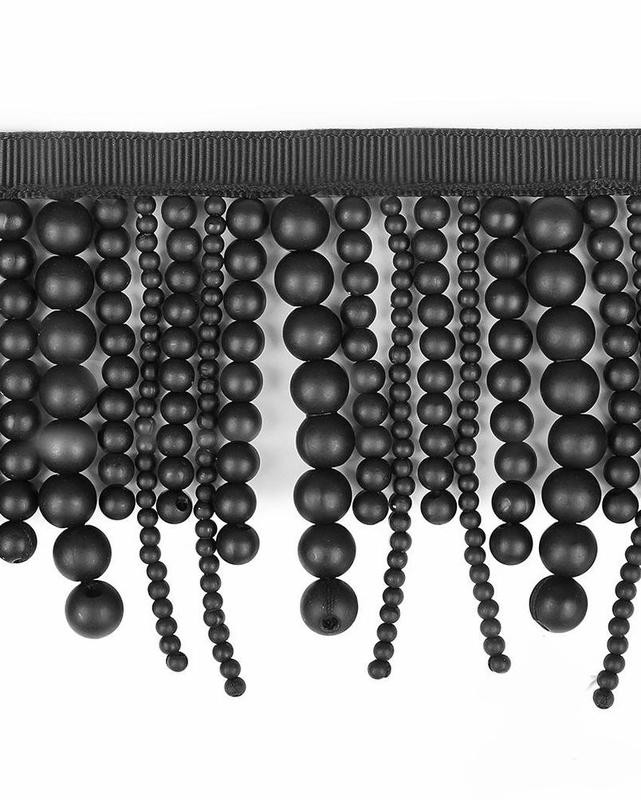 Бахрома жемчуг ш.7,5 см