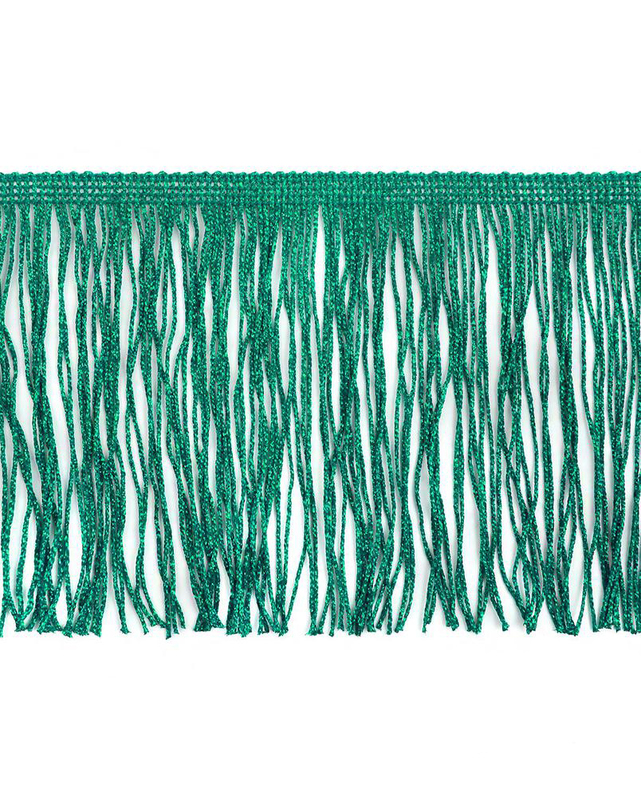Бахрома с люрексом ш.15 см