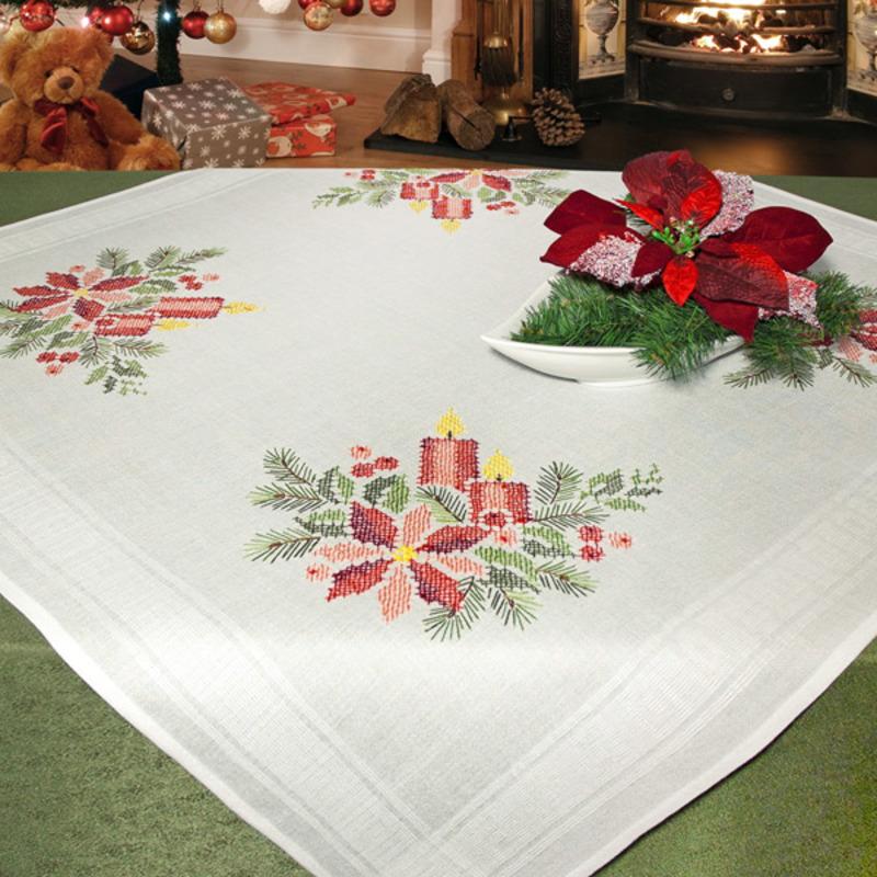 Набор для вышивания: скатерть 80*80см