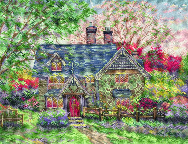 "Набор для вышивания Maia ""Gingerbread Cottage"""