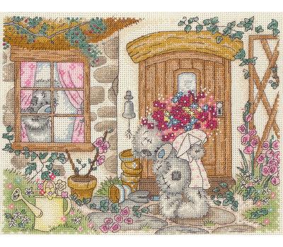 """Набор для вышивания Anchor """"Cottage Scene"""" 20*25см"""