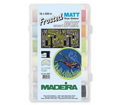 НАБОР FROSTED MATT №40 (18ШТ*500М) MADEIRA