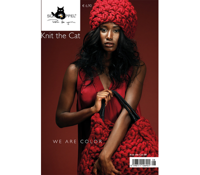 "ЖУРНАЛ ""KNIT THE CAT 08 WE ARE COLOUR"""