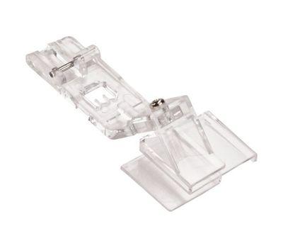 Прозрачная лапка Merrylock для пришивания тесьмы и кружевных лент H10813B
