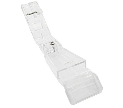 Прозрачная лапка Merrylock для изготовления шлевок из лент или косой бейки (23-25 мм) H10843B