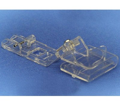 Прозрачная лапка Merrylock для подгибки края материала (25 мм) H10833B