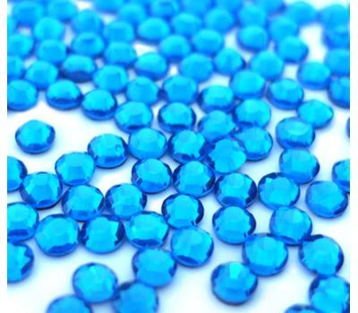 СТРАЗЫ ТЕМНО ГОЛУБОЙ / CAPRI BLUE термоклеевые