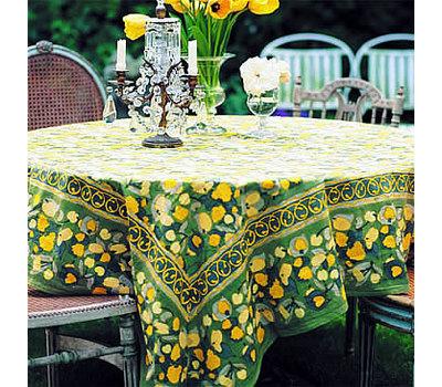 """Скатерть """"Fruit jaune-vert"""""""