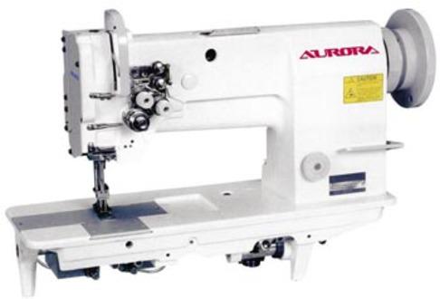 Двухигольная прямострочная швейная машина Aurora A-878