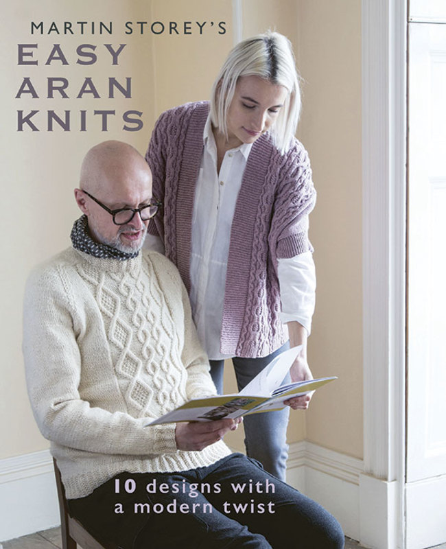 "Книга ""Easy Aran Knits"", дизайнер Martin Storey"