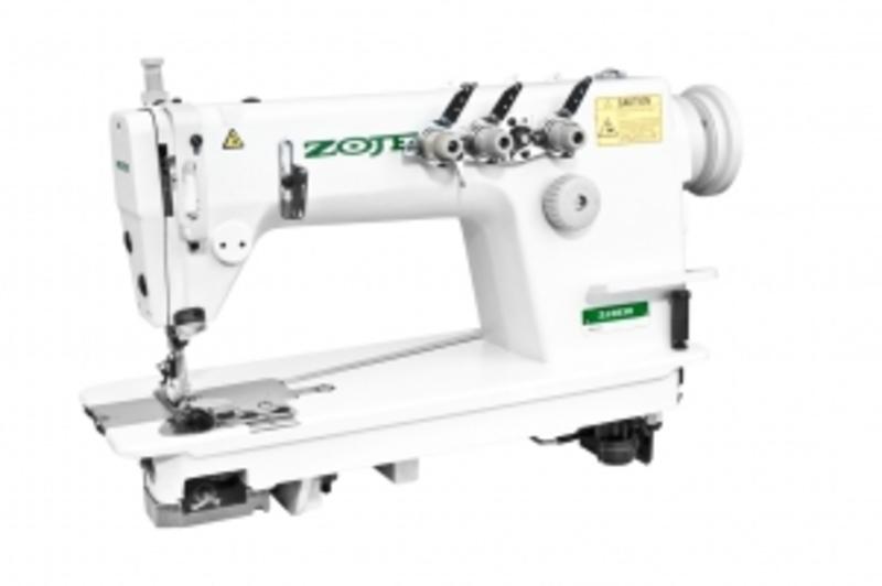 ZOJE ZJ3820 Двухигольная швейная машина цепного стежка с иглами «тандем» (иглы расположены одна за другой).