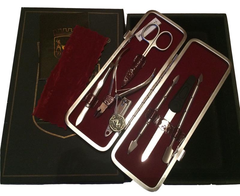 Маникюрный набор Zinger MSFC-401-1 sm (7 предметов) + подарок