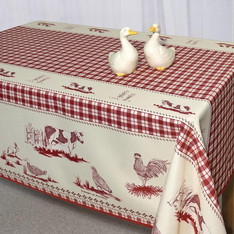Скатерть 140*180 см birds