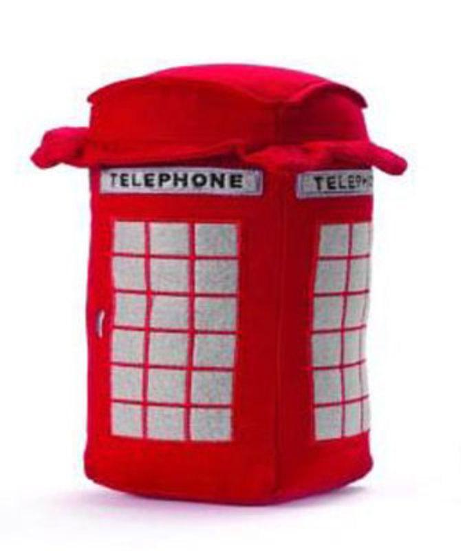 """Стоппер для дверей """"Телефонная будка"""""""