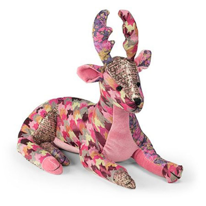 """Стоппер для дверей: олень """"Patchwork Deer """""""